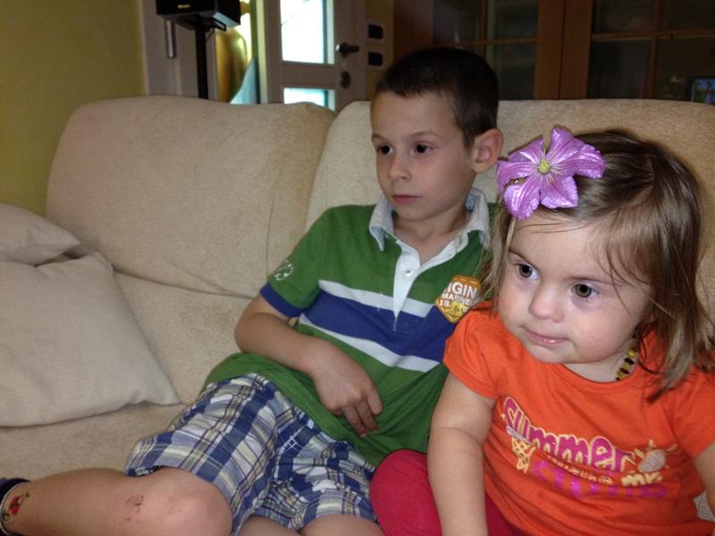 bambina con la sindrome di down