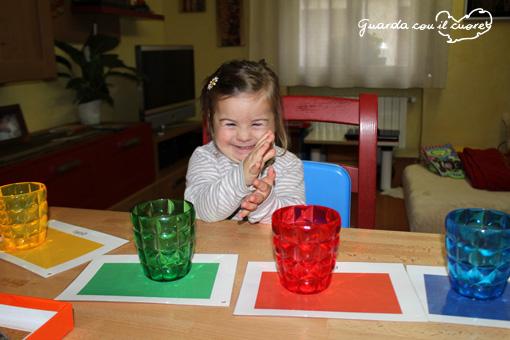 esercizi sui colori per bambini con sindrome di down