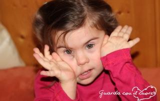 La mia bambina con sindrome di down