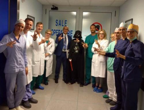 L'ospedale come Guerre Stellari se si ha paura del dentista