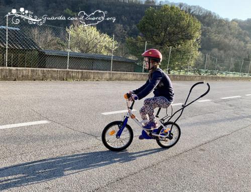 Finalmente vado in bicicletta!